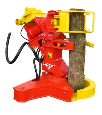 Timber shear grabs for excavator XYLOCUT 400 PE