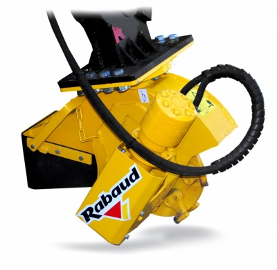 Stump grinder for excavators XYLOCROK  PE