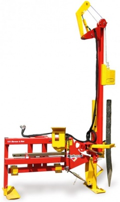 Tilting mast post driver TURBOFRAP 200