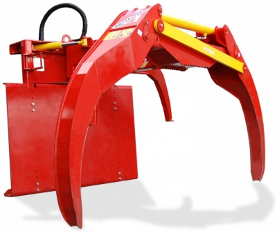 Extractor for tractor mounting XYLOTRAK